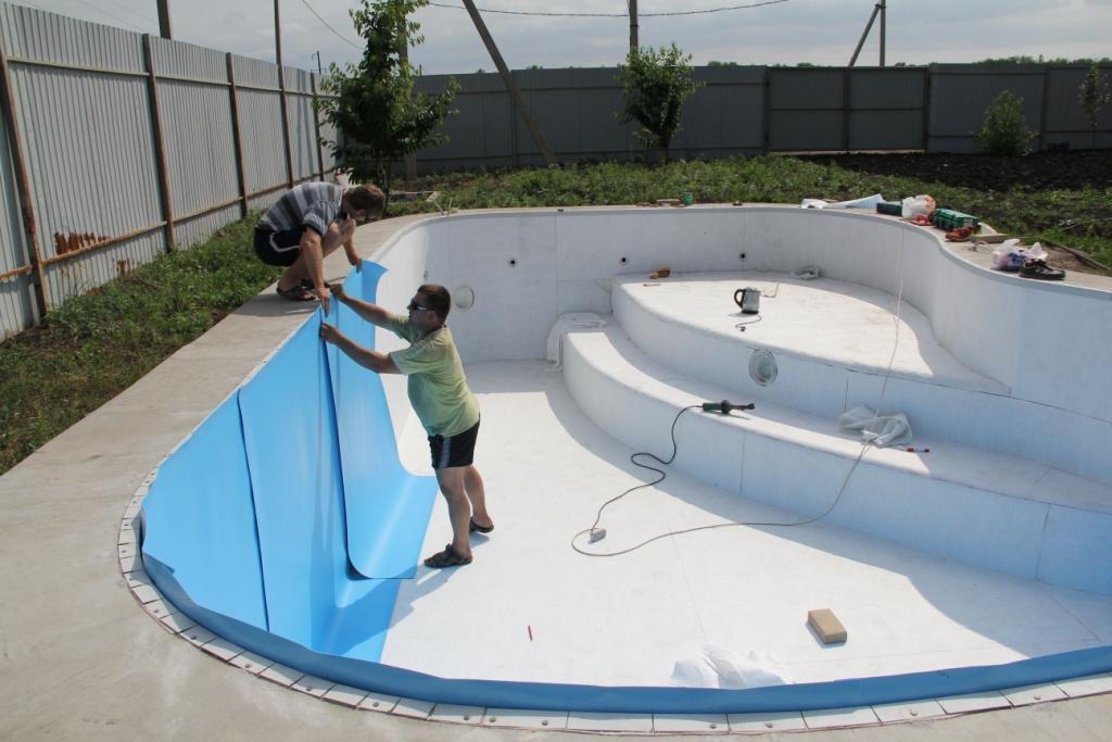 Строительство бассейнов своими руками